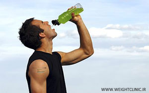 Drinking-water-after-exercise